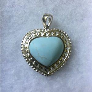 ☘️LENOX 925 Sterling Heart Pendant☘️